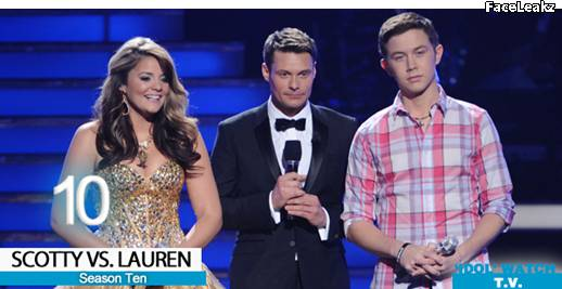 Lauren Alaina and Scotty McCreery - American Idol