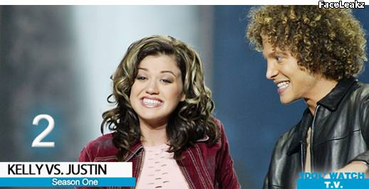 Kelly Clarkson dan Justin Guarini - American Idol