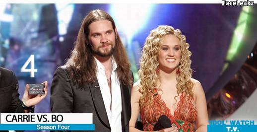 Carrie Underwood dan Bo Bice - American Idol