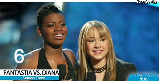 Fantasia Barrino dan Diana DeGarmo - American Idol