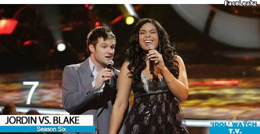 Jordin Sparks dan Blake Lewis - American Idol