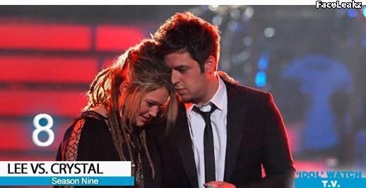 Lee DeWyze dan Crystal Bowersox - American Idol