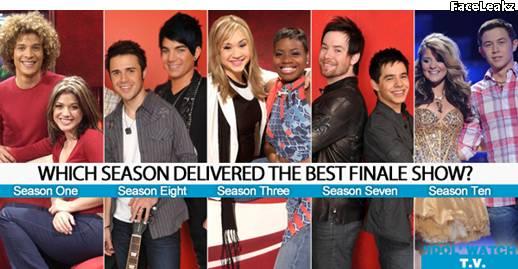 Peringkat final American Idol terbaik dan terburuk